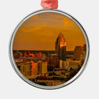 Ornamento De Metal Ouro de Cincinnati