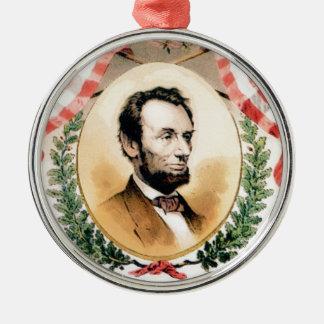Ornamento De Metal Oval de Abe