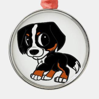 Ornamento De Metal oxidação dos desenhos animados do cão de montanha