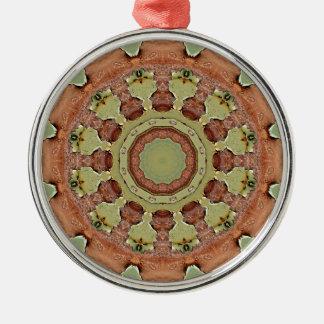 Ornamento De Metal Oxidação-Mandala, ROSTart 712_2