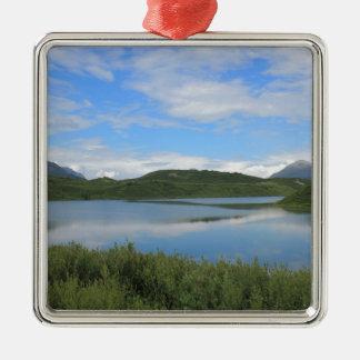 Ornamento De Metal Paisagem de Alaska