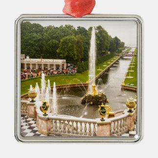 Ornamento De Metal Palácio de Peterhof e jardins St Petersburg Rússia