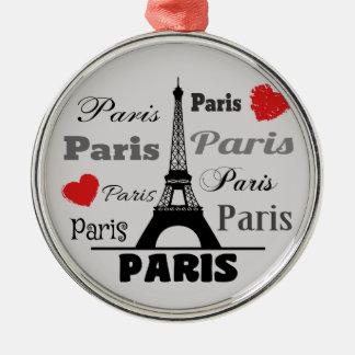 Ornamento De Metal Paris