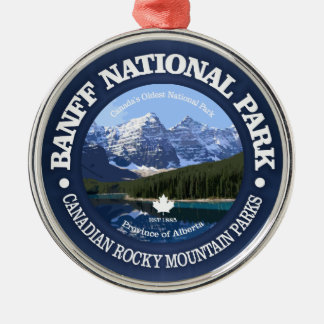 Ornamento De Metal Parque nacional de Banff (c)