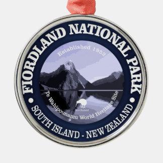 Ornamento De Metal Parque nacional de Fiordland