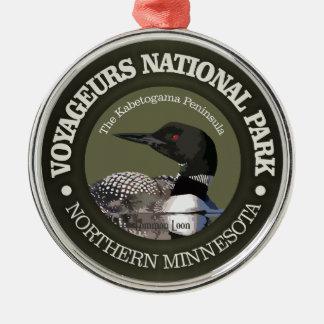 Ornamento De Metal Parque nacional de Voyageurs (mergulhão-do-norte)