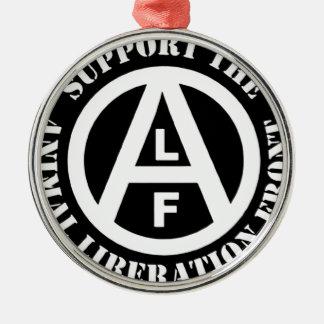Ornamento De Metal Parte dianteira de libertação animal do apoio do