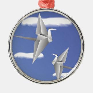 Ornamento De Metal pássaros 78Paper _rasterized
