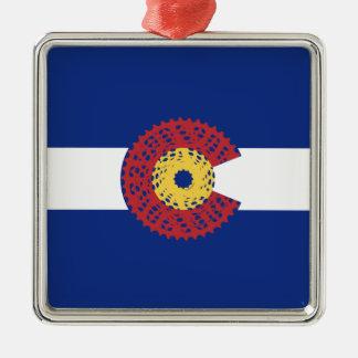 Ornamento De Metal Passeio Colorado (gaveta da bicicleta)