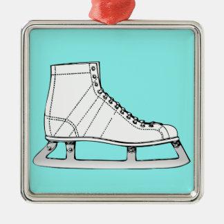 Ornamento De Metal Patinagem artística do patinagem no gelo
