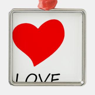 Ornamento De Metal paz love22