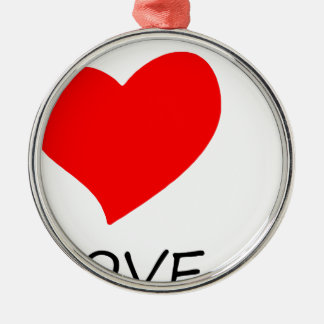 Ornamento De Metal paz love38