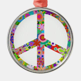 Ornamento De Metal peace11