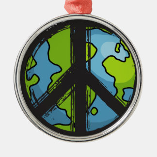 Ornamento De Metal peace5