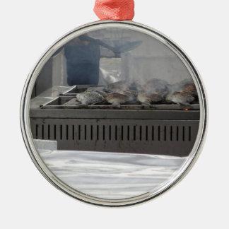 Ornamento De Metal Peixes do churrasco fora