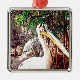 Ornamento De Metal pelicanos