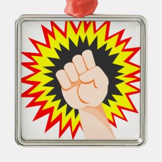Ornamento De Metal Perfurador da energia do poder do braço da força