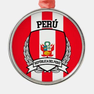 Ornamento De Metal Peru