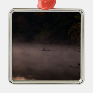 Ornamento De Metal Pesca nevoenta adiantada