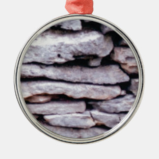 Ornamento De Metal pilha da rocha formada