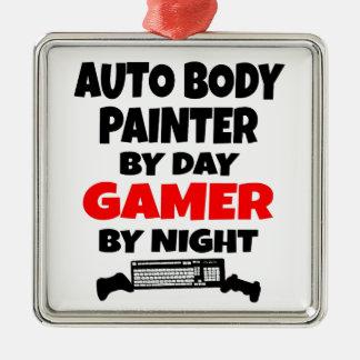 Ornamento De Metal Pintor do corpo do Gamer auto