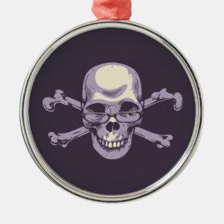 Ornamento De Metal Pirata Nerdy