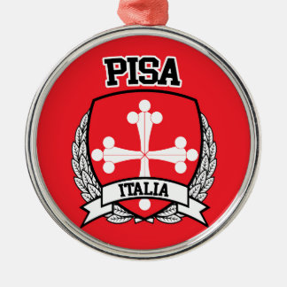 Ornamento De Metal Pisa