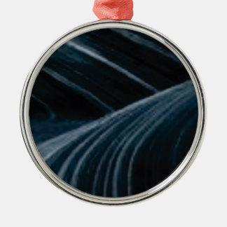 Ornamento De Metal pistas pretas da sombra