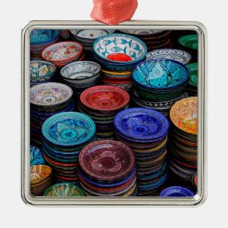 Ornamento De Metal Placas marroquinas no mercado