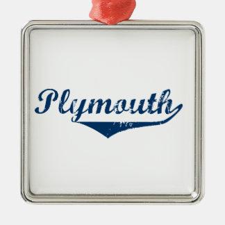 Ornamento De Metal Plymouth