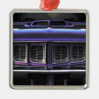 Ornamento De Metal Plymouth 1971 'Cuda