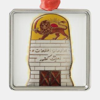 Ornamento De Metal Polícia secreta persa SAVAK