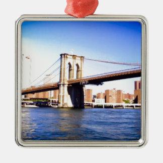 Ornamento De Metal Ponte de Brooklyn