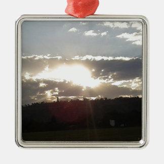 Ornamento De Metal Por do sol de Imperani