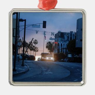 Ornamento De Metal por do sol de Veneza
