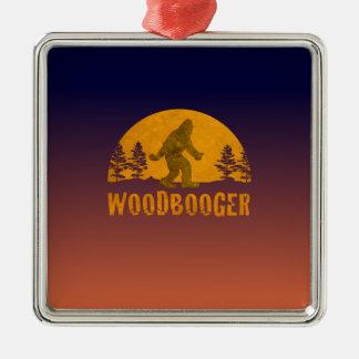 Ornamento De Metal Por do sol do vintage de Woodbooger