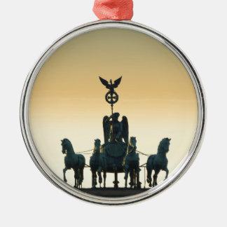 Ornamento De Metal Porta de Brandemburgo 001 do Quadriga, Berlim