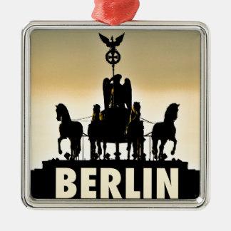 Ornamento De Metal Porta de Brandemburgo do Quadriga 002,1 de BERLIM