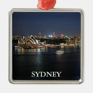 Ornamento De Metal Porto de Sydney no cais circular