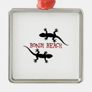 Ornamento De Metal Praia Austrália de Bondi