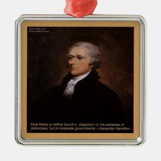 Ornamento De Metal Presentes de Alexander Hamilton