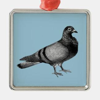 Ornamento De Metal Presentes do pombo do vintage
