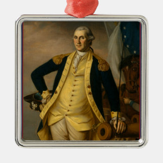 Ornamento De Metal Presidente americano: George Washington