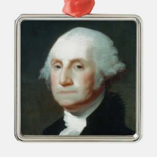 Ornamento De Metal Primeiro presidente: George Washington