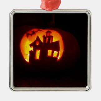 Ornamento De Metal Pumpkin_craft_for_Halloween