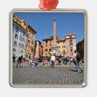 Ornamento De Metal Quadrado em Roma, Italia