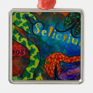 Ornamento De Metal Quexius dos ipos de Selictium