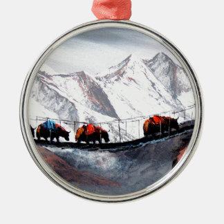 Ornamento De Metal Rebanho de iaques Himalaya da montanha