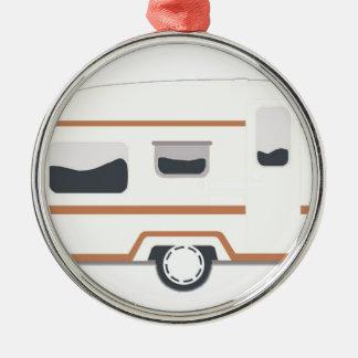 Ornamento De Metal Reboque de campista Van de acampamento