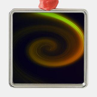 Ornamento De Metal Redemoinho abstrato